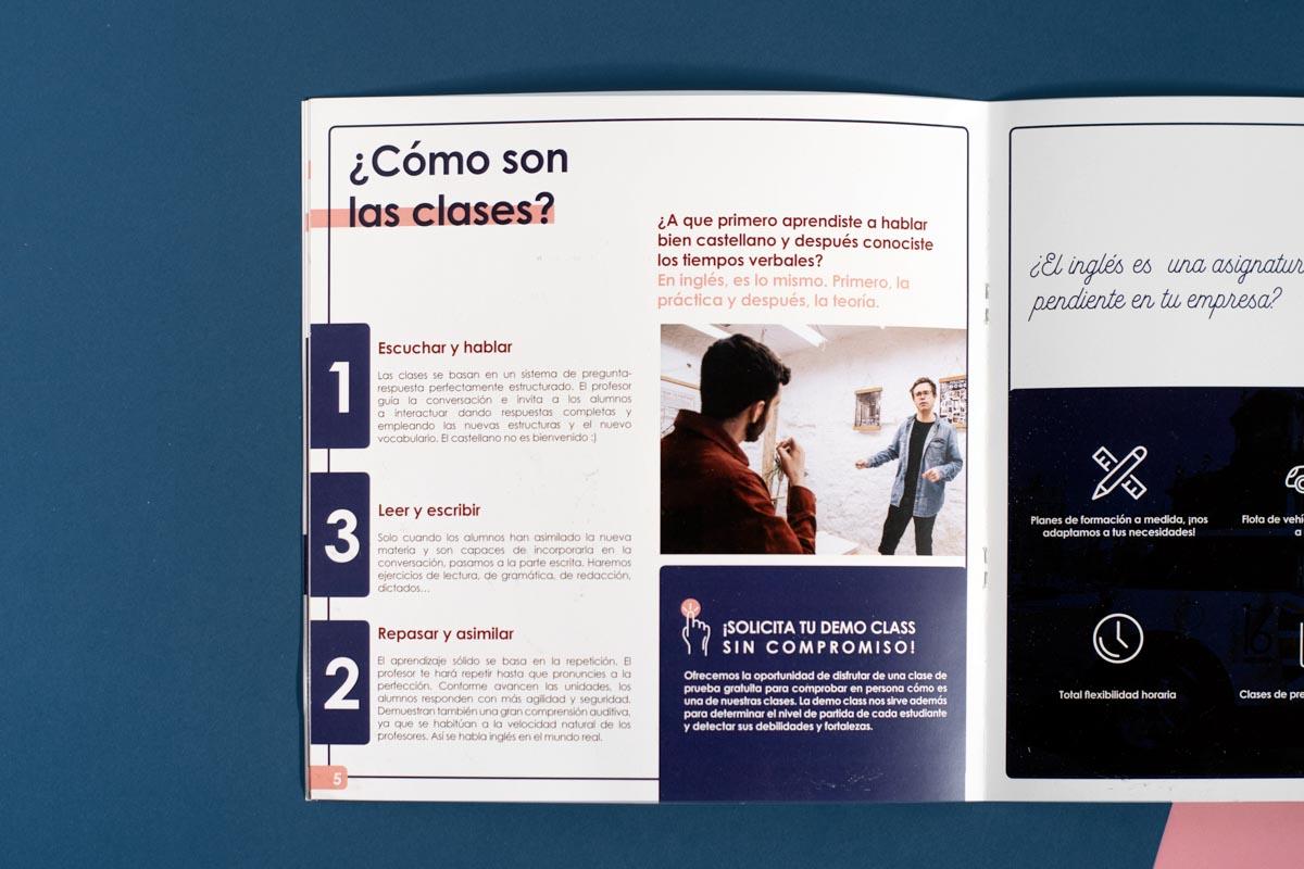 Maquetación del catálogo In Company de Number 16