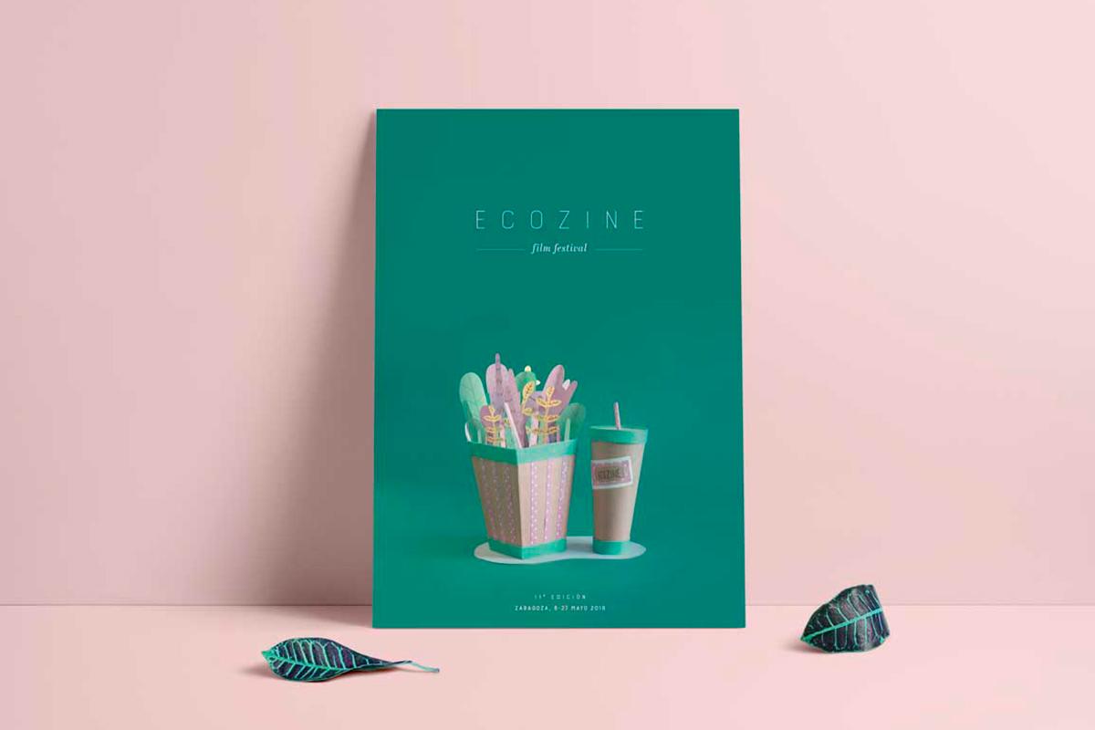 Cartel promocional Bodegón fotográfico de papel