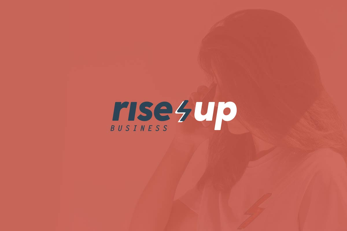 Identidad corporativa Rise Up Business