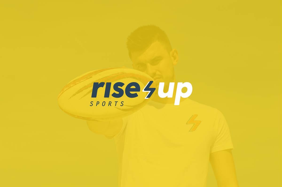 Identidad corporativa Rise Up Sports