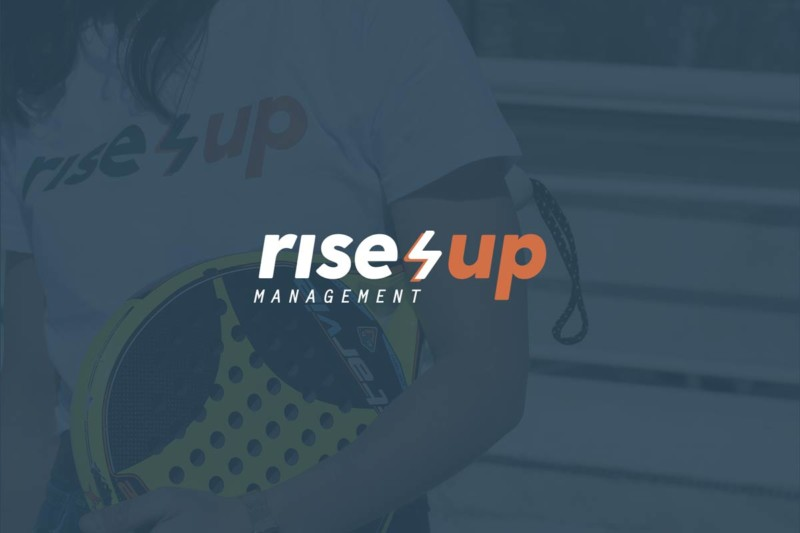 Identidad corporativa Rise Up Management
