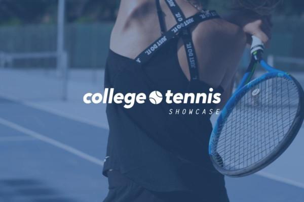 Diseño gráfico para eventos - College Tennis Showcase