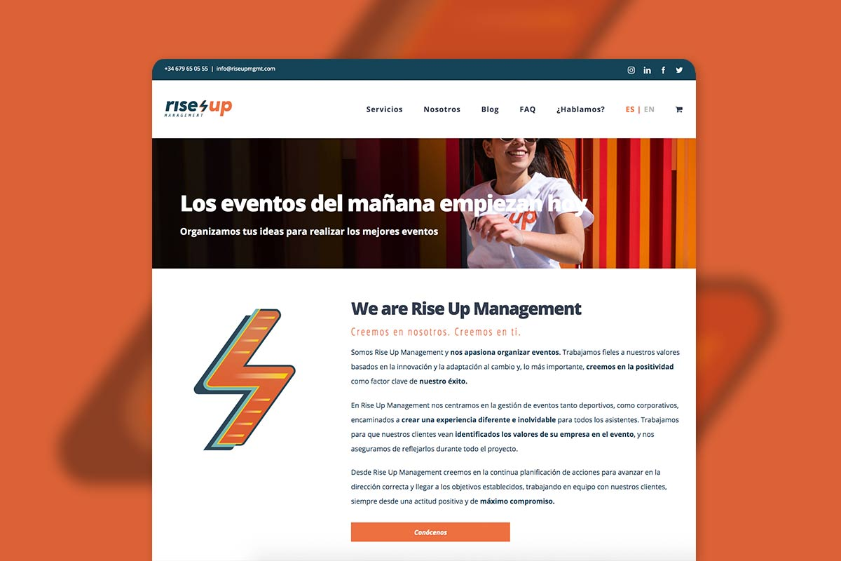 Diseño web wordpress en Zaragoza